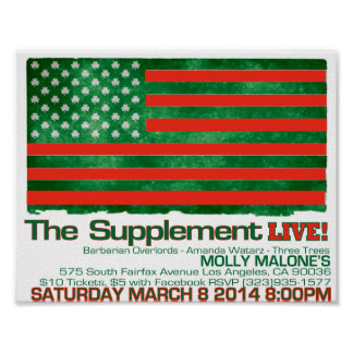 Molly Malone's March 8 2014 Poster