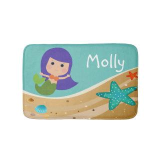 Molly Mermaid Bath Mat