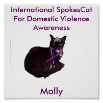 molly, Molly, International Spokes Cat For Dome... Poster
