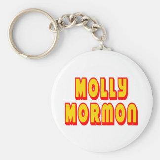 Molly Mormon Keychain
