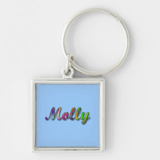 Molly_Name Keychain