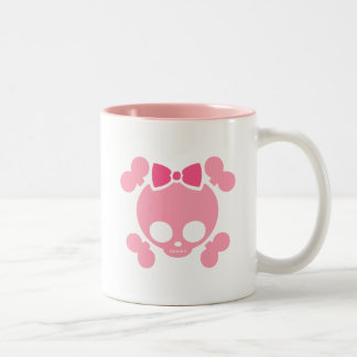 Molly Pink Two-Tone Coffee Mug