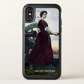 Molly Pitcher - Revolutionary War Patriot Speck iPhone X Case