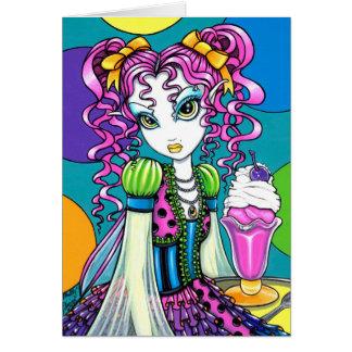 """""""Molly"""" Rainbow Ice Cream Fairy Card"""