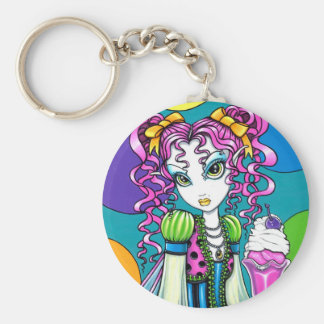 """Molly"" Rainbow Ice Cream Fairy Keychain"