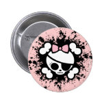 Molly Splat Pinback Buttons