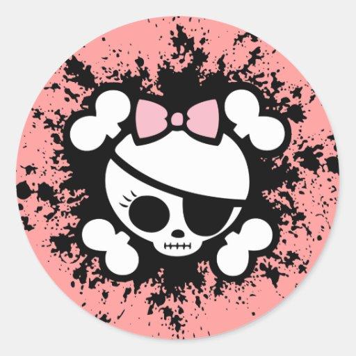 Molly Splat Stickers