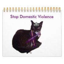 molly, Stop Domestic Violence Calendar
