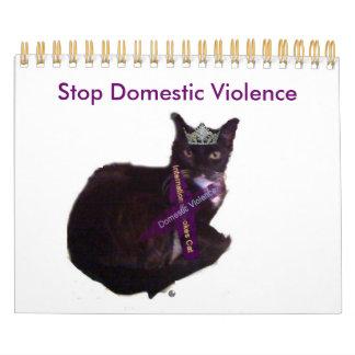 molly, Stop Domestic Violence Calendar