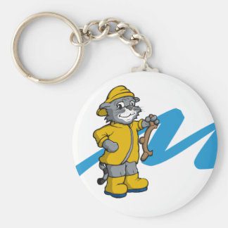 Molly the Catboat Cat key chain