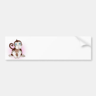 Molly the Monkey Bumper Stickers