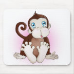 Molly the Monkey Mouse Pad