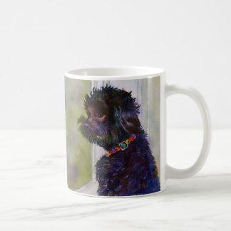 Molly, Watercolor Art Mug