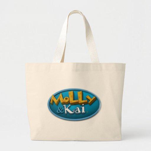 Molly y bolso de Kai Bolsa Tela Grande