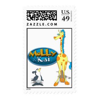 Molly y sello de Kai
