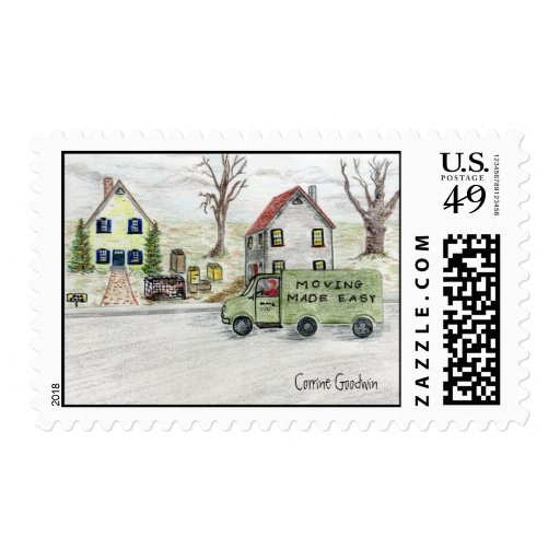 Molly's Moving Day Postage