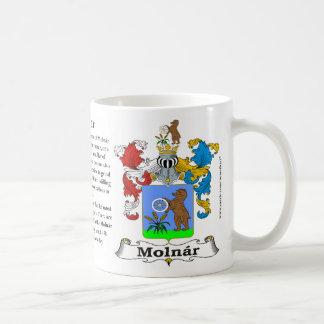 Molnar Family Coat of Arms Mug