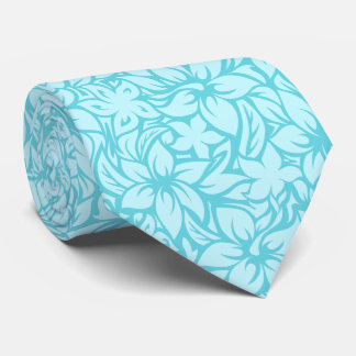 Moloaa Bay Hawaiian Hibiscus Aloha Shirt Print Neck Tie