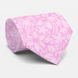Moloaa Bay Hawaiian Hibiscus Aloha Shirt Print Tie