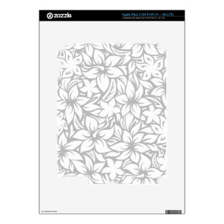 Moloaa Bay Hawaiian Hibiscus iPad or Tablet Skin iPad 3 Decals