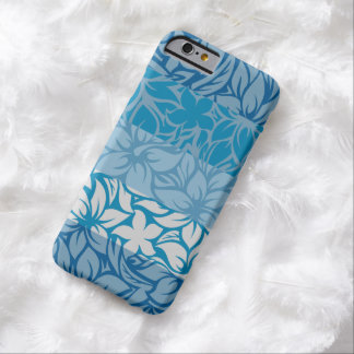 Moloaa Bay Hawaiian Striped Hibiscus Barely There iPhone 6 Case