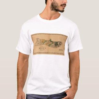 Molokai, 1897, Vintage Hawaii Map T-Shirt