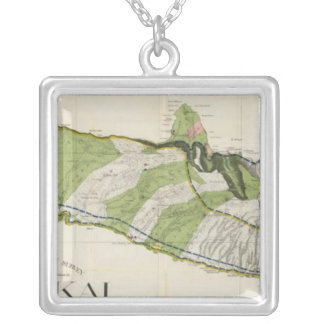 Molokai, Hawaii Silver Plated Necklace