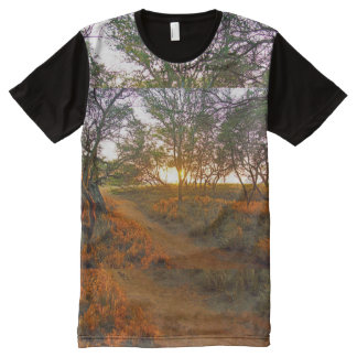 Molokai Sunset All-Over Print T-shirt