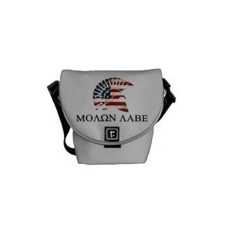 MOLON LAB CARRY BAG  (YOUR NAME OR INFO ON BOTTOM)