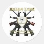 Molon Labe - 2da enmienda Etiqueta Redonda