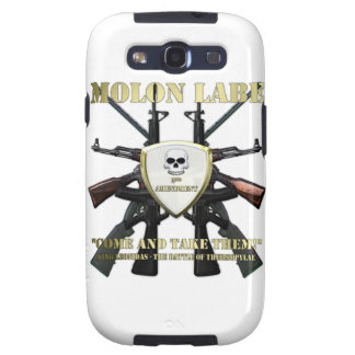 Molon Labe - 2da enmienda Samsung Galaxy S3 Fundas