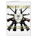 Molon Labe - 2da enmienda Tarjeta