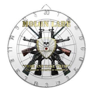 Molon Labe - 2nd Amendment Dart Boards