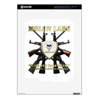 Molon Labe - 2nd Amendment Skins For iPad 3