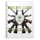 Molon Labe - 2nd Amendment Spiral Notebook