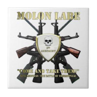 Molon Labe - 2nd Amendment Tiles