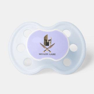 molon labe baby pacifier