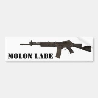 Molon Labe Car Bumper Sticker