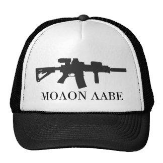 Molon Labe Carbine Cap Trucker Hat
