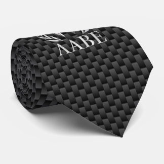 Molon Labe Chrome Spartan Helmet on Carbon Fiber Tie