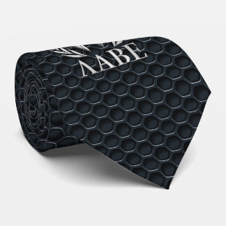 Molon Labe Chrome Spartan Helmet on Grille Neck Tie