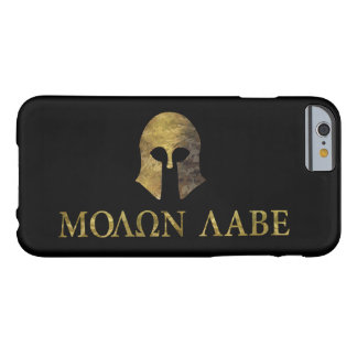 Molon Labe (Come and Get It camo version) Barely There iPhone 6 Case