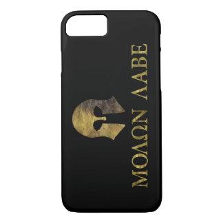 Molon Labe (Come and Get It camo version) iPhone 7 Case