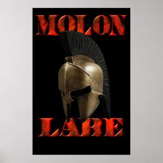 Molon Labe( come and get it) poster