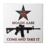 Molon Labe - Come And Take It Tile