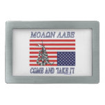 Molon Labe - Come and Take Rectangular Belt Buckle