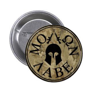 Molon Labe Come and Take Them Pinback Button