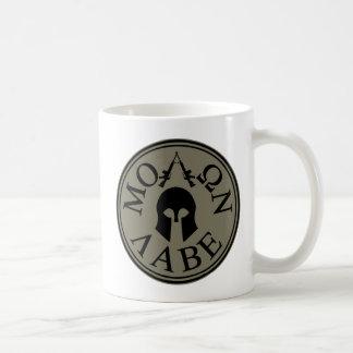 Molon Labe, Come and Take Them Classic White Coffee Mug
