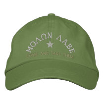 Molon Labe - Come and Take Them Embroidered Baseball Cap