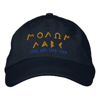Molon Labe COME AND TAKE THEM Embroidered Cap